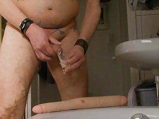 Schmollmund 's man swallows his own sperm part 2