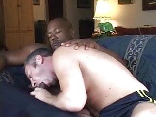 White dude inside man...