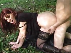 very hot milf suck and fuck big young dick in the wildfree full porn