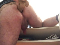 Love fucking with a big dildo