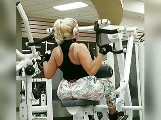 madura nalgona gym