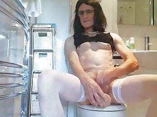 Tranny in the toilet