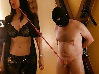 Whipping Balls and Fetish Humiliation