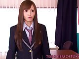 Nippon teen schoolgirl facialized in class