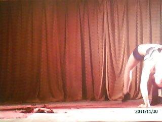 Chinese girl dance