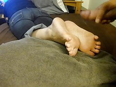 Brandi's Toes and Soles Need Cum