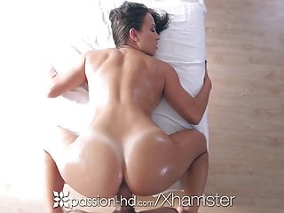 Passion-HD – Babe Lily Love massage a cock between her tits