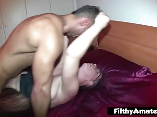 Large cocks Gigolo! Anal intercourse for determined housewife!