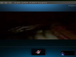 My Girlfriend on Skype