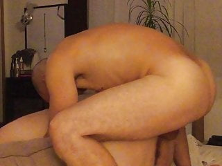 BBW wife drilled hard from behind