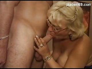 Nonna italiana fottuta dallo studente