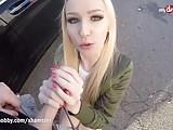My Dirty Hobby - Lucy Cat fucks on a public street
