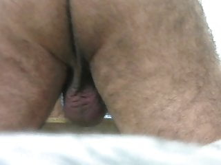 Daddy's ass and balls close view – ilovetobenaked