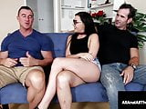 Four Eyed Whitney Wright Butt Fucked In Front Of Boyfriend!?