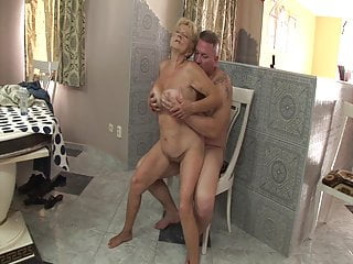 Horny fucked stepson by granny her