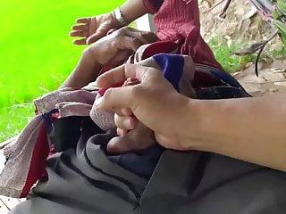 Thai Grandpa Padi Field Outdoor Jerk Off Part 4 – 78 yr