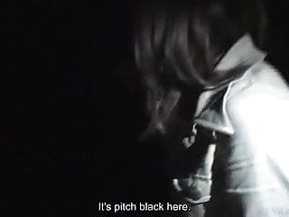 Subtitled Japanese ghost hunting haunted park investigation