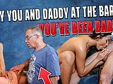 DADDY4K. Grey-haired dad makes love to his sons chick Anna