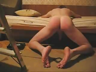 Spanking that ass...