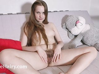 Alice Shiny strips nude after some studying