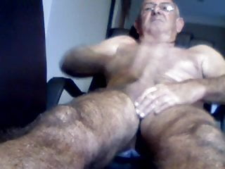 Big dicked dad wanking 016
