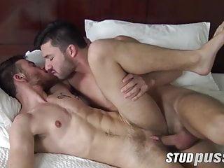 Cute ftm jock orally pleasured before cock...