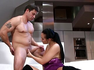 Busty Chick Tit Fucked And Pussy Drilled
