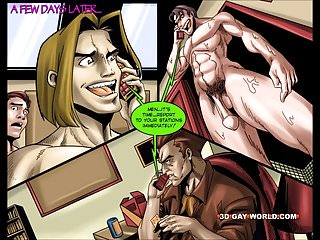 Flamboyant four gay superhero animated comics...