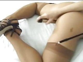 Silvia Saint masturbates with a vibrator