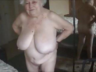 Old nude grandma boobs...