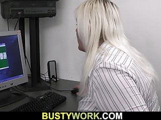 Hot blonde bbw sex...