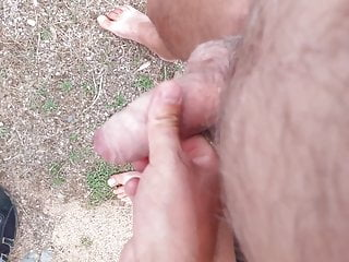 Old gay masturbates my little cock...