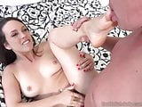 Jade Nile Has Her Feet Worshipped and Pussy Fucked Hard