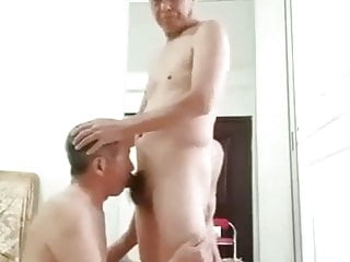 on daddy daddy knees his another goes and Chinese sucks