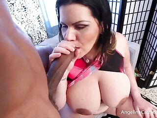 HUGE Titty Miami Girl Angelina Castro Is The Boobjob Queen!