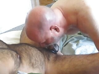 Impaling My Throat On Wolfman's Uncut Cock.