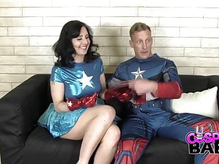 Captain America Miss America Cosplay