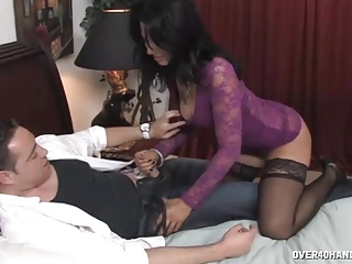 Candy Milf Strokes Drivers Onerous Shaft point of view