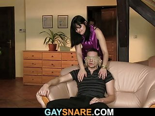 She snares experience...