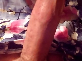 Crossdresser tranny cd sissy cuming with dildo...