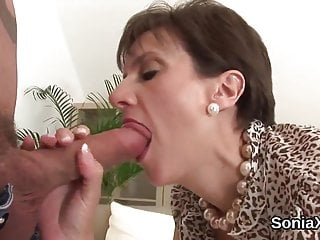 unfaithful english mature lady sonia flashes her enormous naHD Sex Videos
