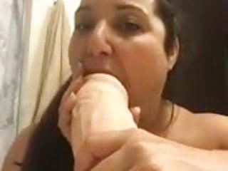 Loving the 12 inch dildo...