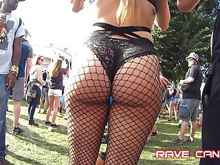 Candid Hot Pawgs in Fishnets wow!!