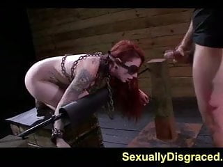 Tattoed sheena rose and orgasm denial punishment...