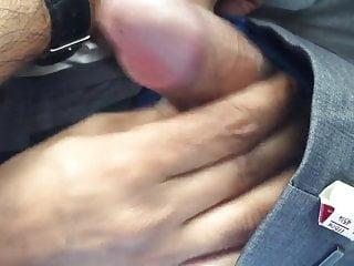 MILF giving me Handjob(quickie) in Car