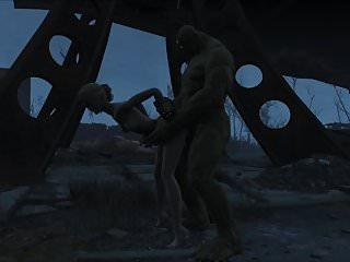 Fallout 4 katsu sex adventure chap 5 supermutant...