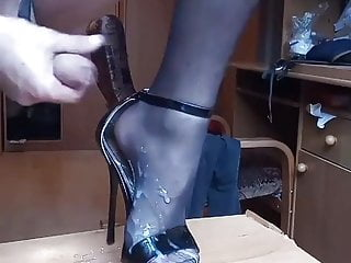 سکس گی cum out of  sexy high heels masturbation  hot gay (gay) hd videos handjob  gay cum (gay) crossdresser  big cock  amateur