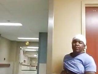 Black Man Jerking Off in the work Part 1-3