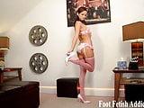 Foot worship jerk off instruction JOI