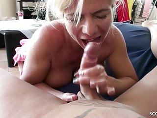GERMAN MOM Nadja Fucked with YOUNGER GUY at User Date
